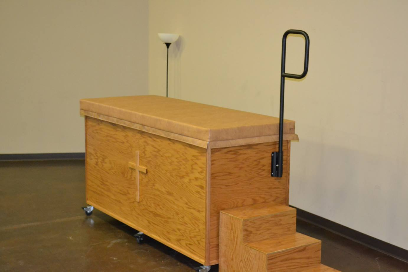 Portable Baptism Pool With Cabinet Southeast Church Supply